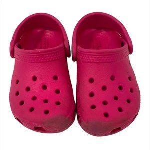 Crocs Slip On Shoes Pink Size C6